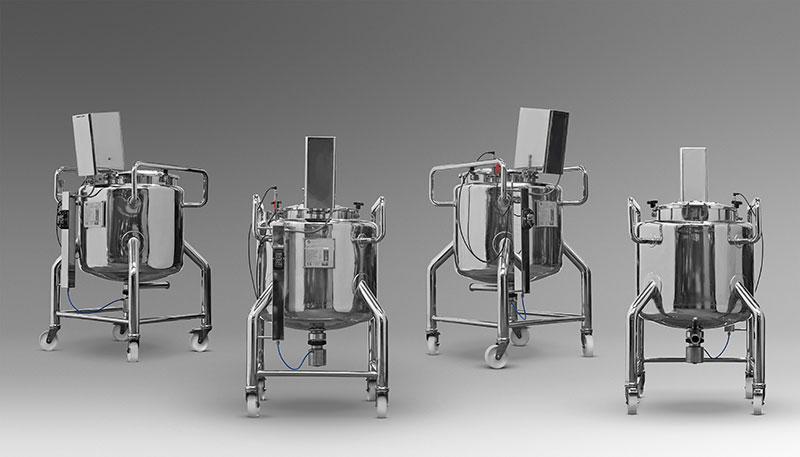 Mezclador de 150 litros en acero inoxidable