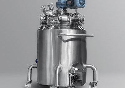 Depósito Móvil de 400 litros en Acero Inoxidable