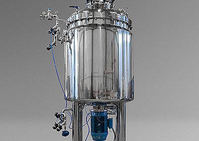 Mezclador de 2000 litros para zona segura