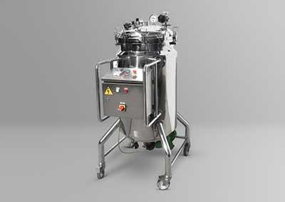 Depósito de 200 litros para soluciones esteriles