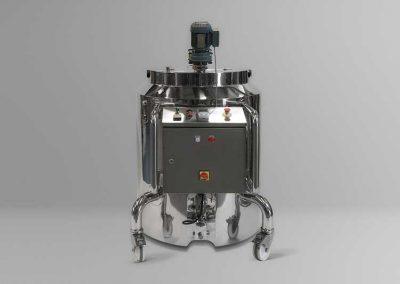 Depósito de 300 litros para zona segura