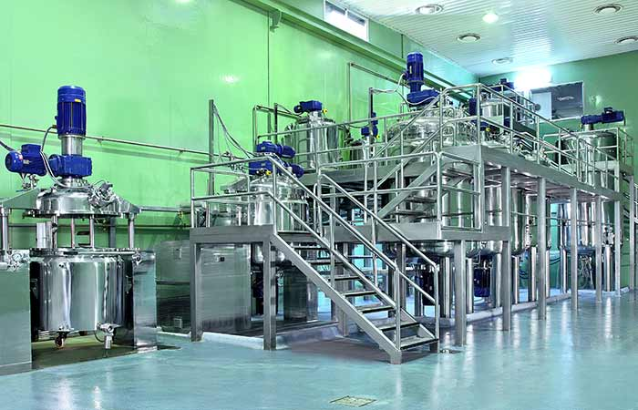 Sala para fabricación de cosméticos